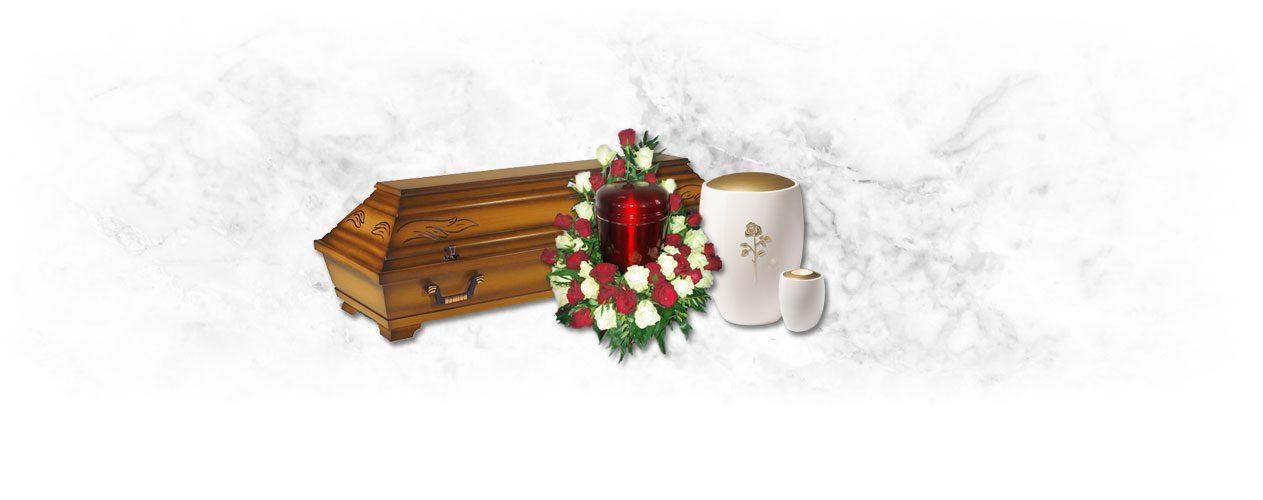 Produkte rund um die Bestattung